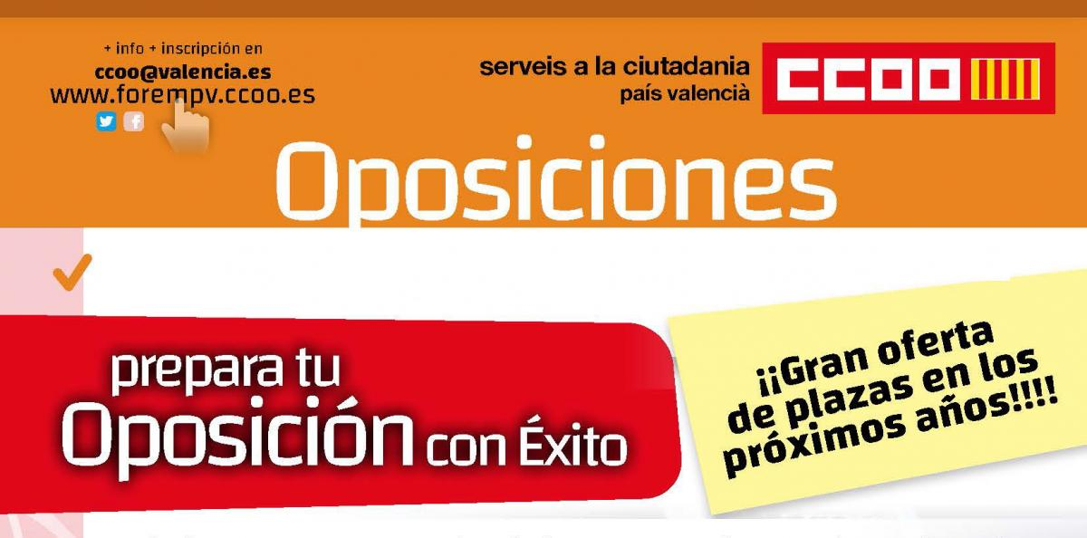 Cartell oposicions